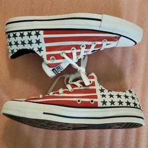 Converse, men, shoes, university red!